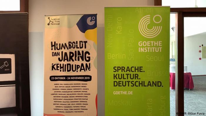 Indonesien Science Film Festival 2019 - Goethe Institut (DW/R. Akbar Putra)