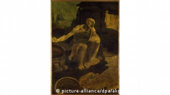 São Jerônimo no deserto, tela inacabada de Leonardo da Vinci