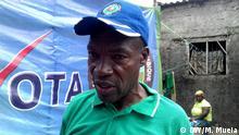 Victorino Francisco. MDM Pressprecher in Zambezia Provinz, Mosambik