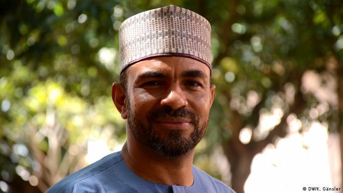 Imam Nuruddeen Lemu smiling