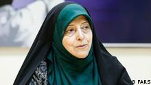Masoumeh Ebtekar, Beraterin des iranischen Präsidenten