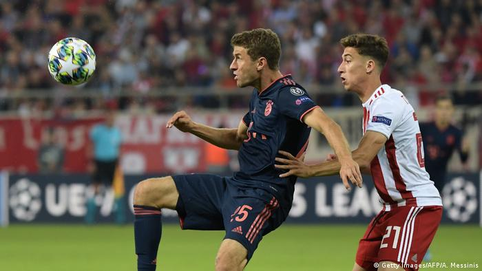 Fußball Champions League | Olympiacos FC v Bayern München (Getty Images/AFP/A. Messinis)