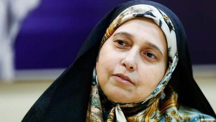 Parvaneh Salahshouri, iranische Parlamentsabgeordnete (baharnews)