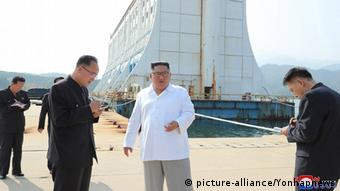 Nordkorea Südkorea Kim Jong Un zu Besuch in Kumgang