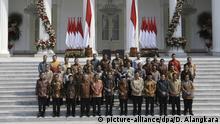 Joko Widodo Indonesien Kabinett