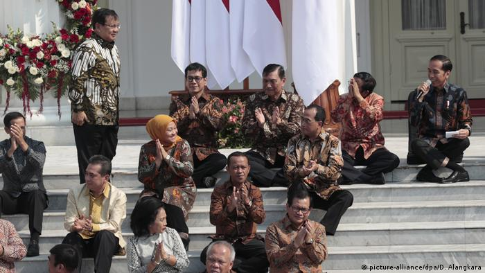 Joko Widodo Indonesien Kabinett (picture-alliance/dpa/D. Alangkara)