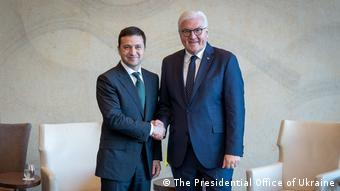 Volodymyr Zelenski und Frank-Walter Steinmeier (The Presidential Office of Ukraine)