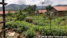 Ruanda Dörfer passen sich Klimawandel im Nordwesten an