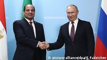 Sotschi Russland-Afrika Gipfel Ägypten