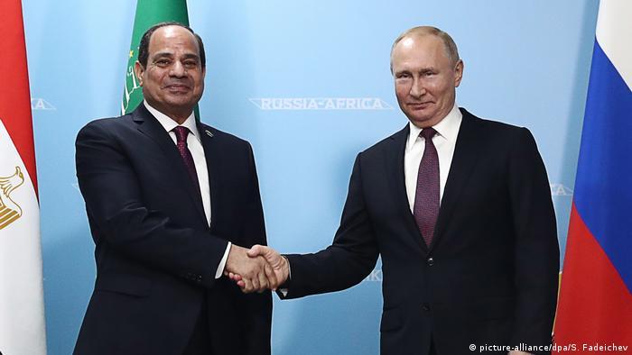Sotschi Russland-Afrika Gipfel Ägypten (picture-alliance/dpa/S. Fadeichev)