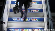 Russland Afrika Gipfel