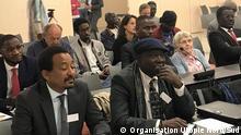 Konferenz von der NGO UTOPIE Nord-Sud in Genf