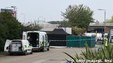 Großbritannien Thurrock   39 Leichen in LKW Container gefunden