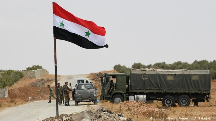 Сирийские войска выкуривают боевиков из Идлиба