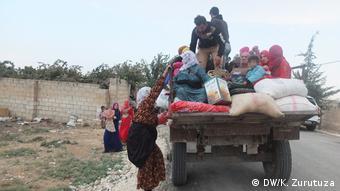 Nord-Syrien Tel Tamer   humanitäre Krise