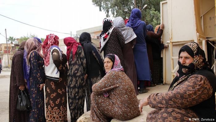 Беженцы в Телль Тамере