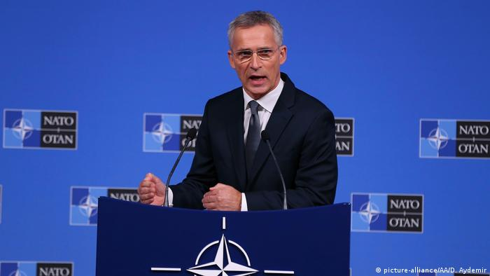 Belgien Brüssel | NATO Generalsekretär Jens Stoltenberg (picture-alliance/AA/D. Aydemir)