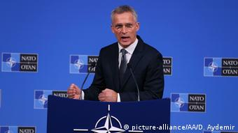 Belgien Brüssel   NATO Generalsekretär Jens Stoltenberg