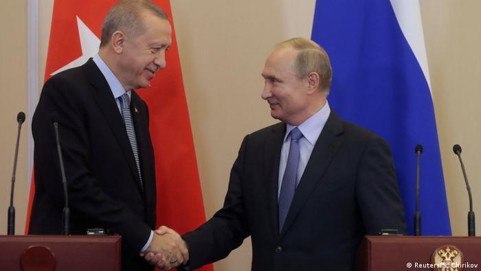 Erdogan und Putin in Sochi