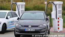 Altenburg | VW E-Golf bei Ionity E-Superschnell-Ladepark