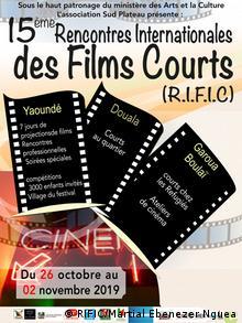 Plakat vom RIFIC, International Encounters of Short Films