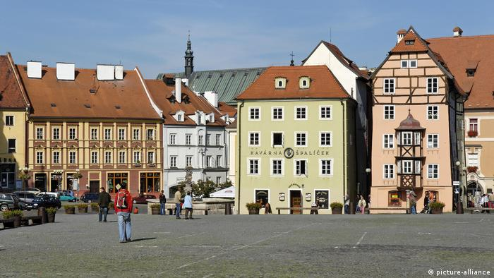 Stöckl, historische Altstadt von Cheb (picture-alliance)