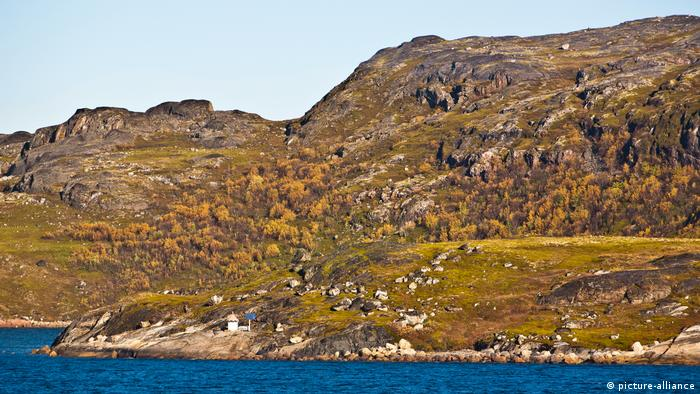 Karge Felslandschaft bei Kirkenes in Nordnorwegen (picture-alliance)