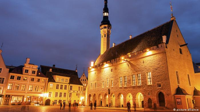 Rathaus, Tallin, Estland (picture-alliance)