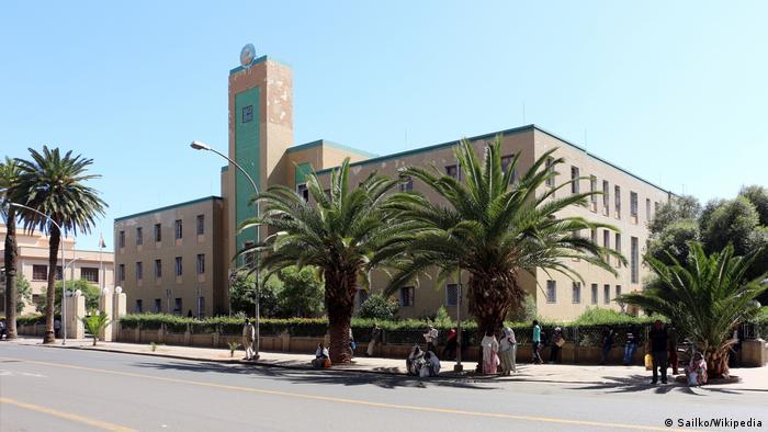 Eritrean government headquarters (Sailko/Wikipedia)