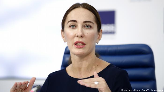 Vize-Chefin der russischen Antidopingagentur RUSADA Margarita Pakhnotskaya