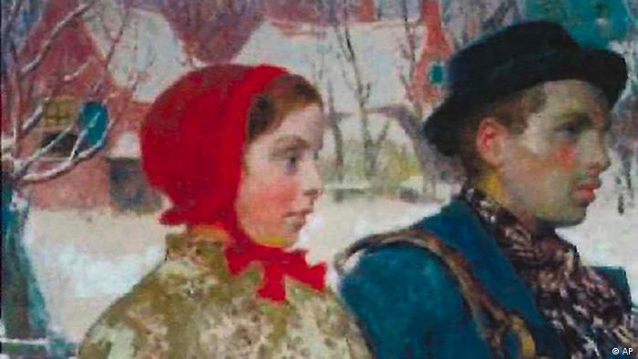 Winter von dem Künstler Gari Melchers