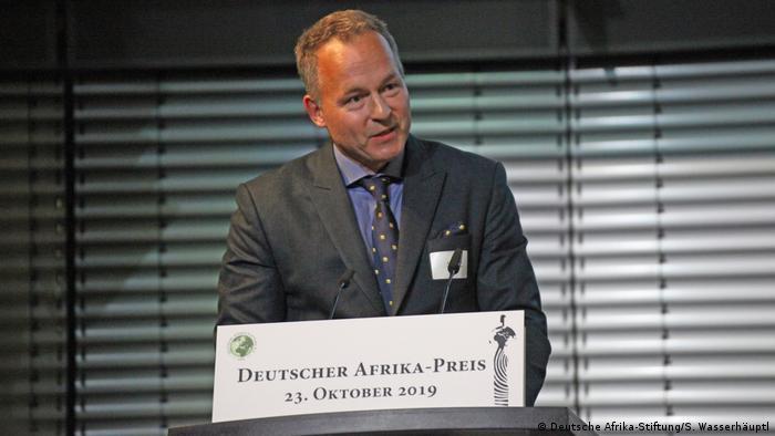 Claus Stäcker at the German-Africa 2019 (Deutsche Afrika-Stiftung/S. Wasserhäuptl)