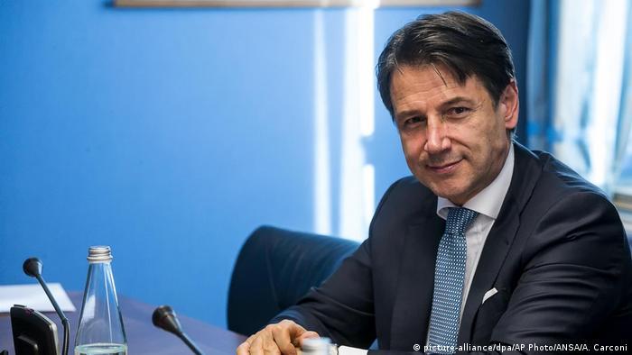 Italien | Premier Giuseppe Conte | COPASIR (picture-alliance/dpa/AP Photo/ANSA/A. Carconi)
