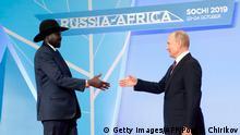 Russland | Afrika Gipfel in Sotschi