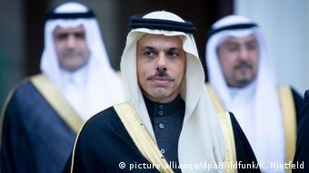 Prinz Faisal bin Furhan | neuer Außenminister Saudi-Arabiens (picture-alliance/dpa/Bildfunk/K. Nietfeld)