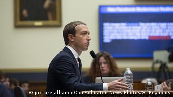 USA Mark Zuckerberg in Capitol Hill
