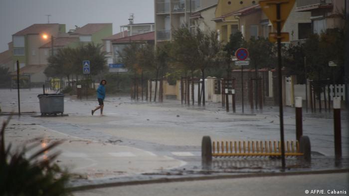 Frankreich Überschwemmungen