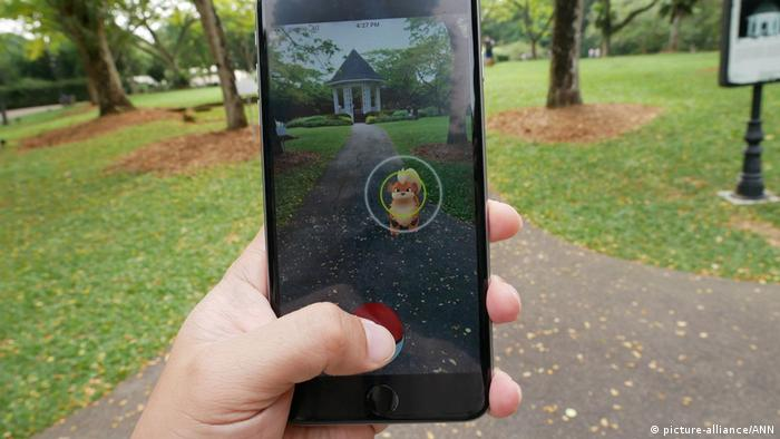 Pokemon Go (picture-alliance/ANN)