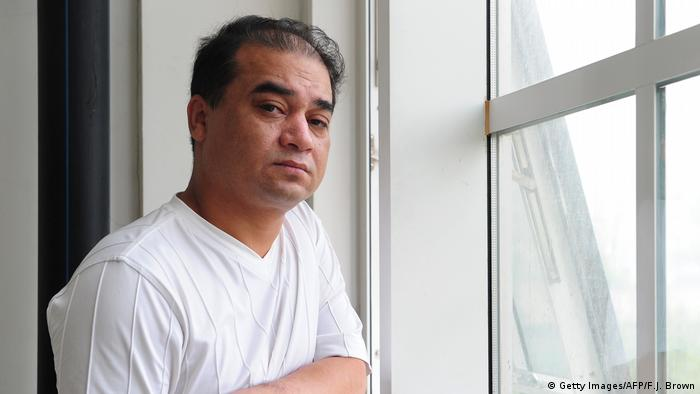 Uighur human rights defender Ilham Tohti in 2010 before his detention (Getty Images/AFP/F.J. Brown)