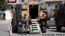 Syrien | Türkischer Soldat in Tal Abyad