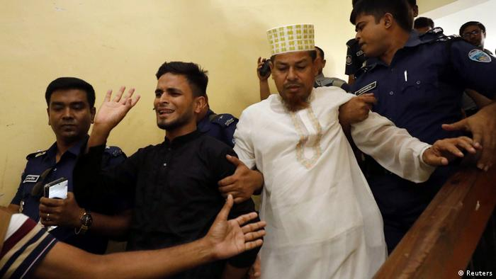 Bangladesch 16 Todesurteile im Mordfall Schulmädchen Nusrat Jahan Rafi (Reuters)