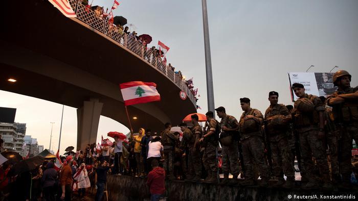 Libanon Jal el-Dib Proteste gegen Regierung