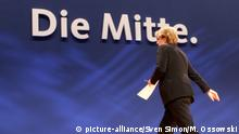 CDU Motto Die Mitte (picture-alliance/Sven Simon/M. Ossowski)