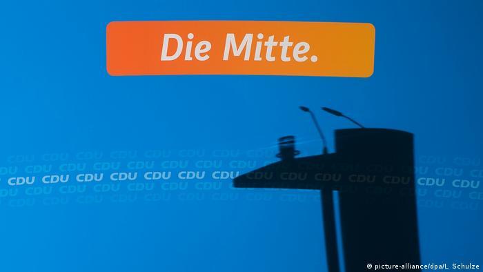 CDU Motto Die Mitte