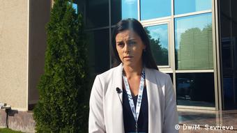 Nord-Mazedonien Skopje   Kristina Rosalia, Qualität-Managerin in Svemek