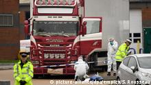 Großbritannien Grays 39 Tote in Container entdeckt