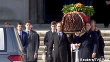Spanien Valle de los Caídos | Exhuminierung von Francisco Franco