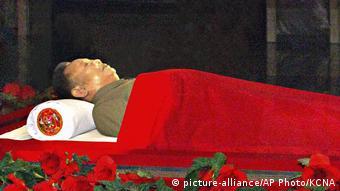 Nordkorea 2011 | einbalsamierter Körper von Kim Il Sung