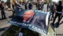 Proteste in Sofia gegen die Wahl des neuen Generalstaatsanwalts Ivan Geschev