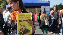 Bulgarien Proteste in Sofia gegen Wahl von Ivan Geshev zum Generalstaatsanwalt